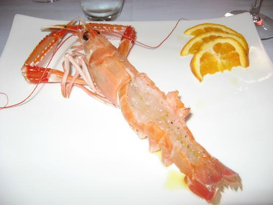 Ristorante Del Golfo: The freshest prawn ever!