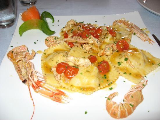 Ristorante Del Golfo: One of the wonderful pasta dishes