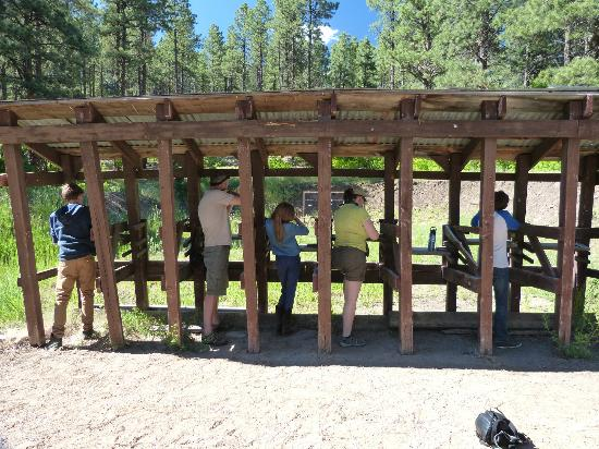 Colorado Trails Ranch: Rifle shooting - targets and tin cans