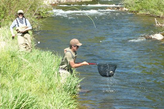 Colorado Trails Ranch: Fly fishing fabulous