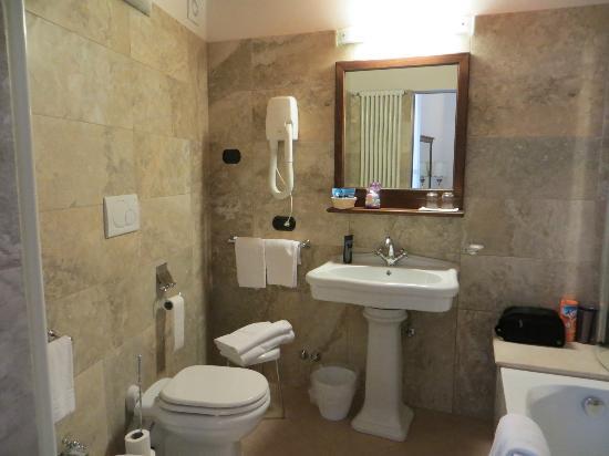 Meuble il Riccio: The bathroom in Room 35