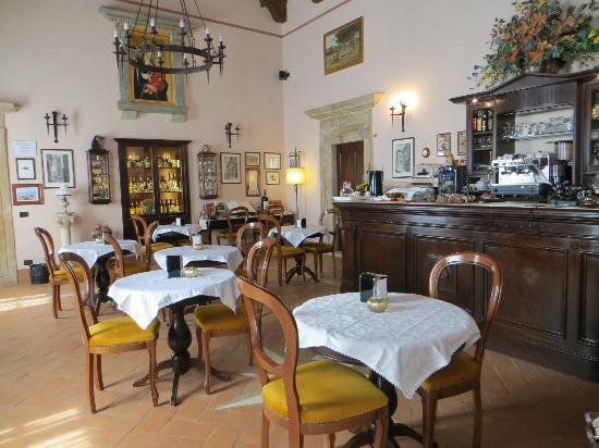 Meuble il Riccio: The breakfast room/lobby