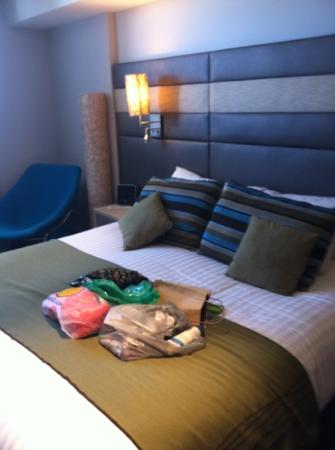 Novotel Newcastle Beach: a very comfortable bed