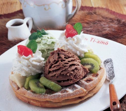 Caffe Ti-amo: Waffle gelato