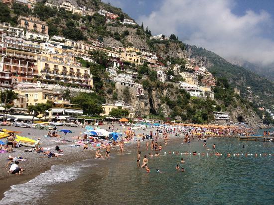 Hotel Posa Posa: Postiano main beach
