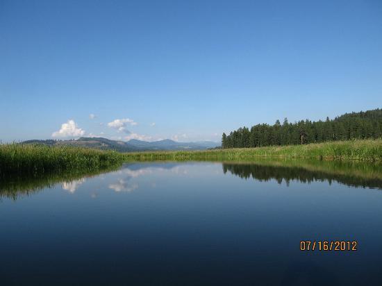 Heyburn State Park: canoe trip on Lake Chatcolet