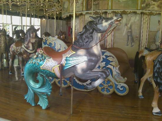 Kit Carson County Carousel: Hippocampus
