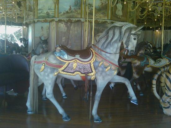 Kit Carson County Carousel: Angel Horse