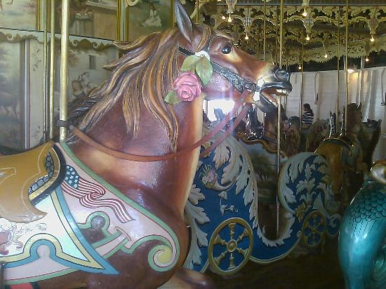 Kit Carson County Carousel: Rose Pony