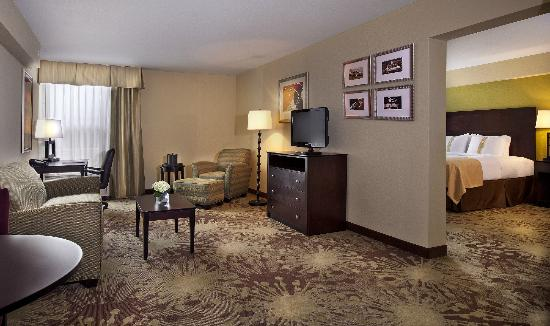 Holiday Inn Gurnee Convention Center: Suite living room