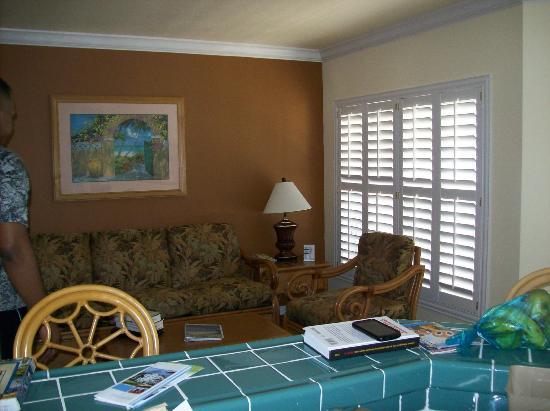WorldMark Kingstown Reef : Living Room