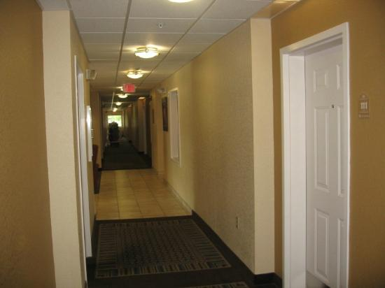 Candlewood Suites Medford : Room 111's steps from lobby