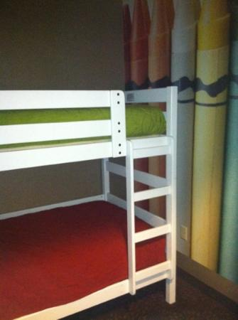 Holiday Inn Express Missoula NW: bunk beds in little nook