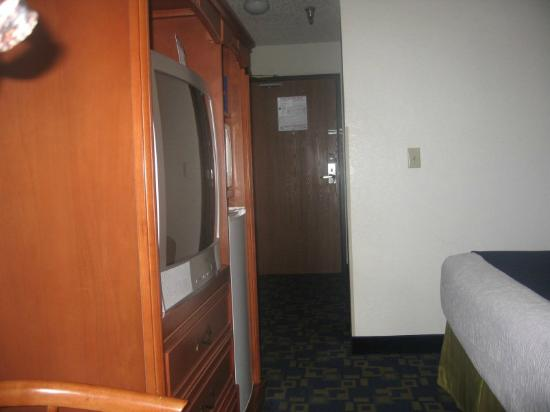 Best Western Antelope Inn & Suites: Room's view to door