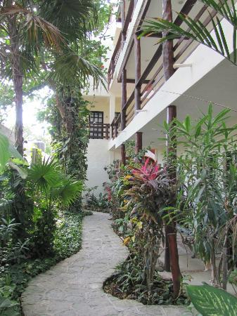 Hotel el Moro: the small garden