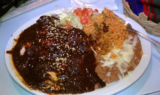 El Fandango Restaurant: mmmmmmmmmmmmmmm mole