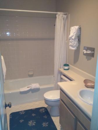 Bella Maggiore Inn: normal bath.