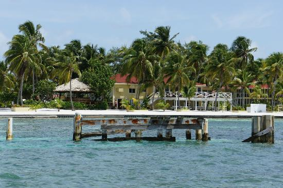 Turneffe Island Resort: view of the resort