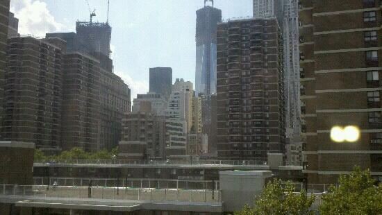 هامبتون إن مانهاتن - سيبورت: view from room 