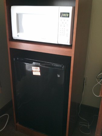 Country Inn & Suites By Carlson, Duluth North: Microwave and fridge