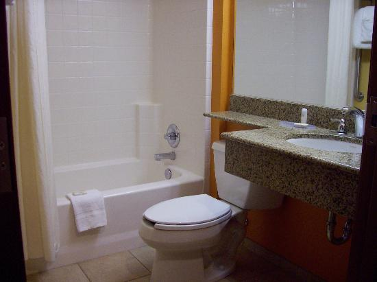 Pronghorn Inn & Suites: Bathroom