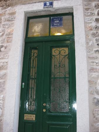 Pansion Sibenik front door