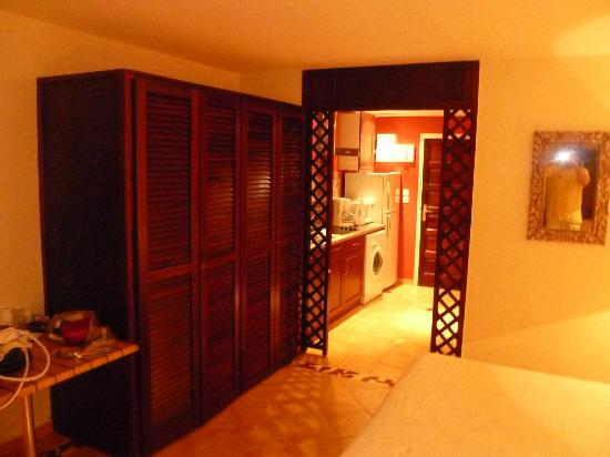 Mount Vernon Beach Resort: PLENTY OF STORAGE IN CLOSET