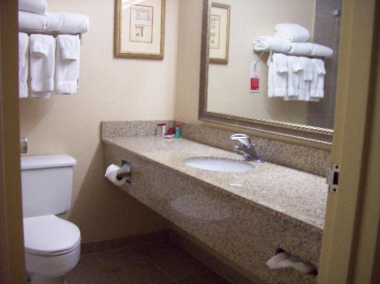 Ramada Plaza Casper Hotel and Conference Center: Bathroom