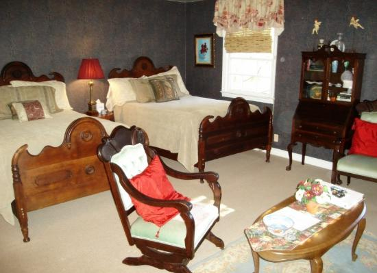 The Inn on Main Street: One of the six charming rooms