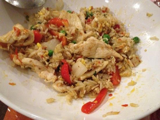Bangkok Garden Thai Restaurant: spicy fried rice 7/10 spice level