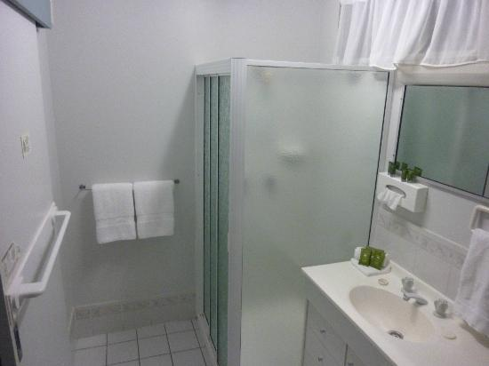 High Street Motor Inn: Clean modern bathroom