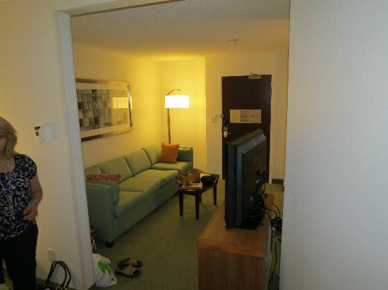 SpringHill Suites Seattle South/Renton: very nice couch, nice decor