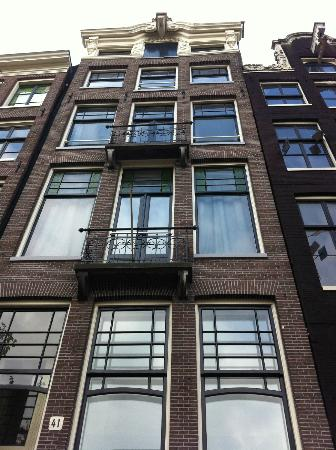Amsterdam Cribs Red Light B&B: the building