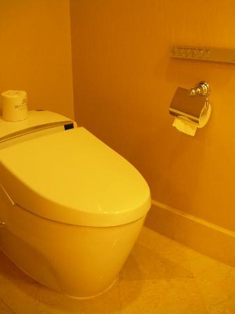 Hotel Mulia Senayan, Jakarta: The electronic toilet seat