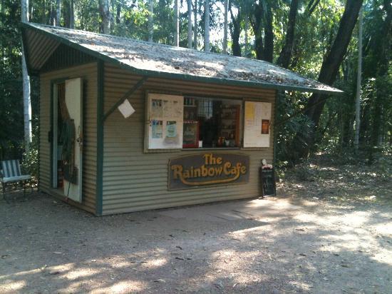 Berry Springs Nature Park : Kiosk at Berry Springs