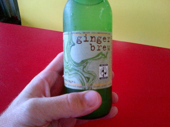 Sweet Pea Cafe : Maine Root Ginger Brew - You gotta love Ginger to drink this.
