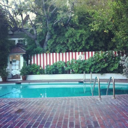 Chateau Marmont: piscine