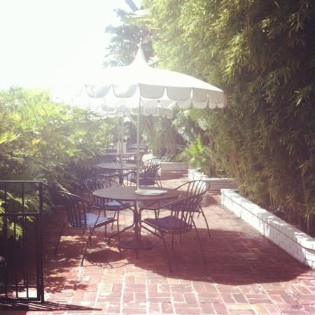 Chateau Marmont: terrasse
