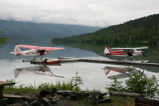 Moose Pass, Аляска: SMA planes! Best way to see the real Alaska!