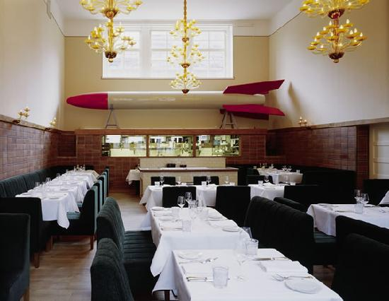 Photo of Modern European Restaurant Pauly Saal at Auguststraße 11–13, Berlin 10117, Germany