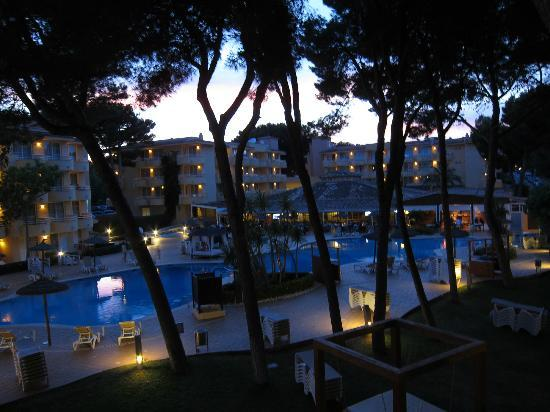 Prinsotel La Pineda: View from room (block 5)