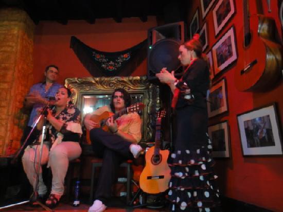 La Ventura: Артисты огненного фламенко шоу