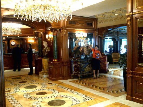 Parco dei Principi Grand Hotel & SPA: Entrance