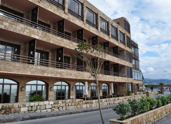 Byblos Sur Mer Hotel post restoration