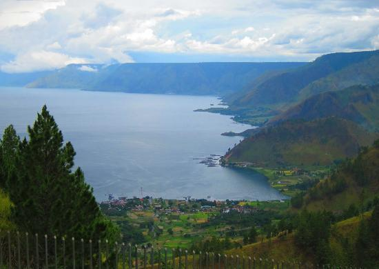Kabanjahe, Indonesien: view of lake toba