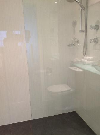 Quality Hotel Gateway : Great shower - shame the light goes off while you are in it!