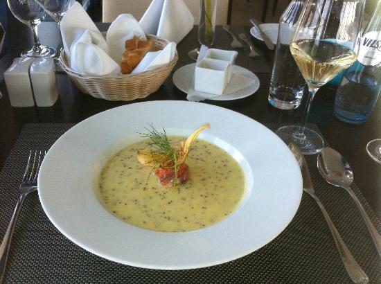 Hotel Vier Jahreszeiten Luebeck : Dinner at Vier Jahreszeiten