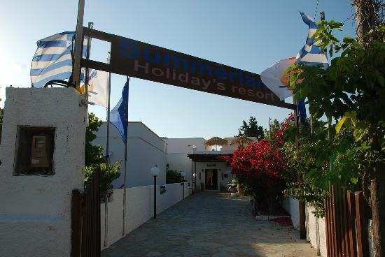 Summerland  Holiday's Resort : Entrance to the hotel area