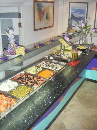 Hotel Oasis Plaza: buffet