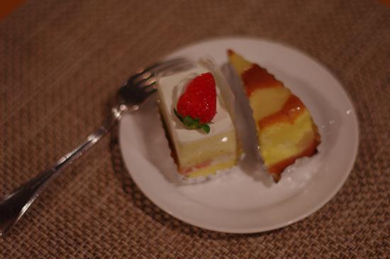 Hotel Moon Beach: tasty cake